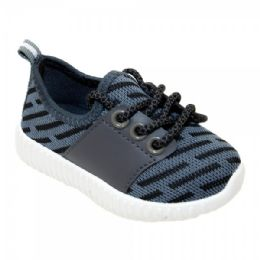 9 Units of Kids Bar Jogger In Gray - Boys Sneakers