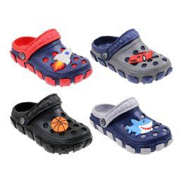60 Units of Boys Garden Shoes Cartoons - Boys Flip Flops & Sandals