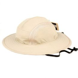 12 Units of Outdoor Safari Hats With Partial Mesh Crown - Fedoras, Driver Caps & Visor