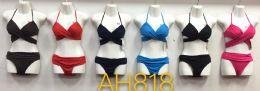 72 Units of Women's Two Piece Swimwear Bikini - Assorted Colors - Womens Swimwear