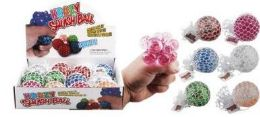 24 Units of Glitter Squishy Ball - Slime & Squishees