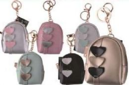 24 Units of 3 Hearts Coin Bag - Coin Holders & Banks