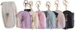 24 Units of Leather Tassel Coin Bag - Coin Holders & Banks