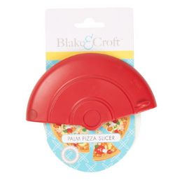 48 Units of Pizza Cutter Palm Held 4in Wheel W/resin Blade 12pc Strip B&c Kitchen Tie Card - Kitchen Knives