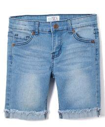 12 Units of Girls' Bermuda Shorts. Size 4-6x - Girls Apparel