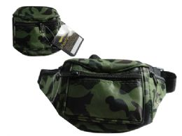 "144 Units of 4 Pocket Adjustable Fanny Pack Size:11""X5.12"" - Fanny Pack"
