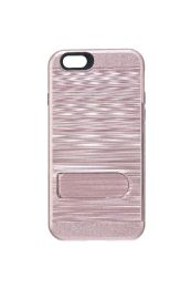 12 Units of FOR IPH 6S METALLIC KICKSTAND CASE ROSE GOLD - Cell Phone & Tablet Cases