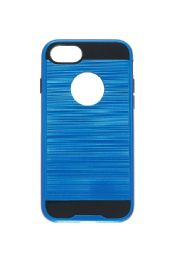 12 Units of FOR IPH 7/8 METALLIC CASE BLUE - Cell Phone & Tablet Cases