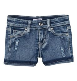 12 Units of Girls' Denim Shorts. Size 7-14 - Girls Apparel