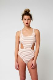 Yacht & Smith Womens Fashion One Piece Bathing Suit Size X Large - Womens Swimwear