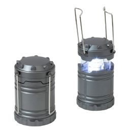 24 Units of Pull Up Lantern in Grey - Lamps and Lanterns
