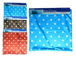 144 Units of Assorted Color Pillow Cover - Pillow Cases