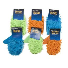 36 Units of Cleaning Car Wash Mitt - Auto Cleaning Supplies