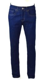 24 Units of Mens Skinny Jeans Solid Blue - Mens Jeans