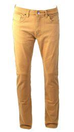 24 Units of Mens Skinny Jeans Solid Dark Beige - Mens Jeans
