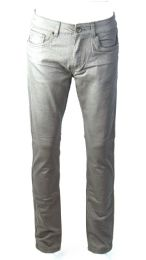 24 Units of Mens Skinny Jeans Solid Chrome - Mens Jeans