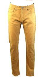24 Units of Mens Slim Jeans Solid Dark Beige - Mens Jeans