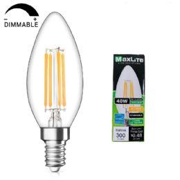 60 Units of Maxlite One Pack Led Chandelier Bulb 4 Watt - Lightbulbs