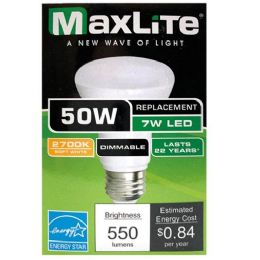 72 Units of Maxlite One Pack Par20 Led Bulb 7 Watt - Lightbulbs