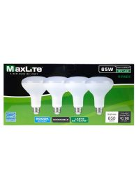 24 Units of Maxlite 4 Pack Led Bulb 8 Watt - Lightbulbs