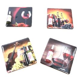 72 Units of Magnet With 3d Wine Bottle - Refrigerator Magnets