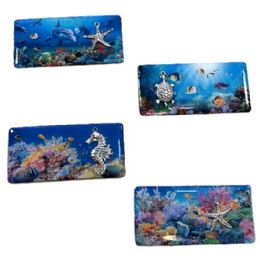 72 Units of Magnet Ocean Life With 3d Accent - Refrigerator Magnets