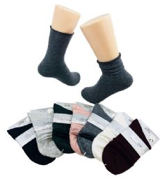 72 Units of Ladies Fashion Socks - Womens Ankle Sock