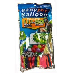 48 Units of Instant 111 Self-Sealing Water Balloons, Rapid-Filling Self-Sealing Water Balloons - Water Balloons