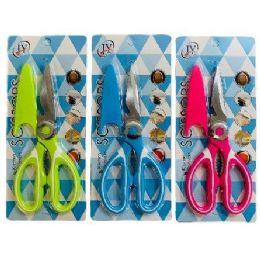36 Units of Multipurpose Scissors With Blade Cover - Scissors