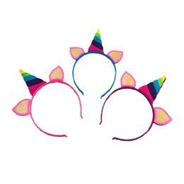 36 Units of Silicone Unicorn Headband - Headbands
