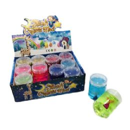 36 Units of Slime Crystal Mermaid Tail with Pearls - Slime & Squishees