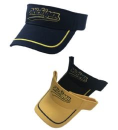 36 Units of Michigan Visor - Fedoras, Driver Caps & Visor