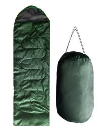 12 Units of ADULTS SLEEPING BAG IN GREEN - Camping Sleeping Bags