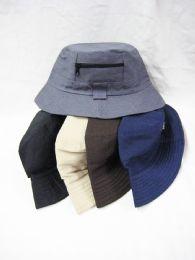 48 Units of Men's Assorted Color Bucket Hat - Bucket Hats