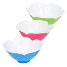 24 Units of Serving Bowl Plastic Tulip Shape - Serving Trays