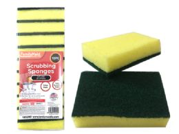96 Units of Scouring Sponges 10pc - Cleaning Products