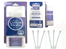 72 Units of Cotton Swab 550 Piece - Cotton Balls & Swabs