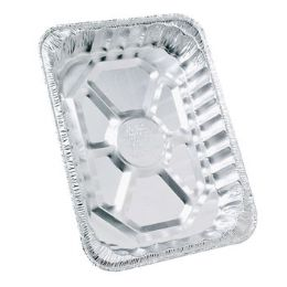 100 Units of Aluminum Roaster Rectangular - Aluminum Pans
