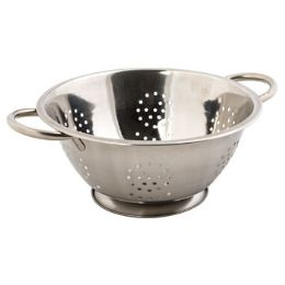 36 Units of Stainless Steel Deep Colander - Stainless Steel Cookware