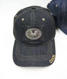 36 Units of Gallo Denim Baseball Cap - Baseball Caps & Snap Backs