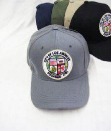 36 Units of City Of Los Angeles Baseball Cap - Baseball Caps & Snap Backs