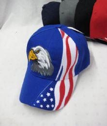 36 Units of USA Eagle Baseball Cap - Baseball Caps & Snap Backs