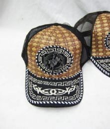 "48 Units of ""rodeo"" Straw Base Ball Cap - Baseball Caps & Snap Backs"