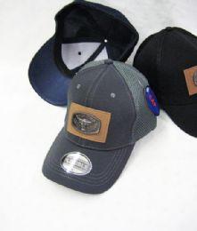 24 Units of Bull Medallion Solid Color Baseball Cap - Baseball Caps & Snap Backs