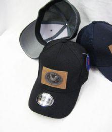 24 Units of Gallo Medallion Solid Color Baseball Cap - Baseball Caps & Snap Backs
