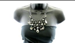 12 Units of Triangle multilayer necklace - Necklace