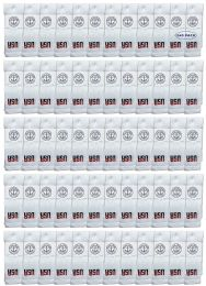 240 Units of Yacht & Smith Kids Cotton USA Tube Socks, Referee Style size 6-8 - Boys Crew Sock
