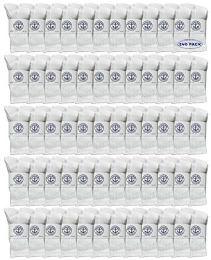 240 Units of Yacht & Smith Kids Premium Cotton Crew Socks White Size 6-8 - Boys Crew Sock