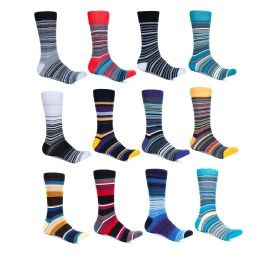 240 Units of Alberto Cardinali Mens Pattern Dress Socks - Mens Dress Sock