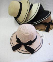36 Units of Girl's Fashion Summer Hat - Fashion Winter Hats